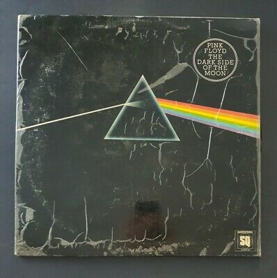 "PINK FLOYD - 'The Dark Side Of The Moon' 12"" Vinyl LP Record EMI Records"