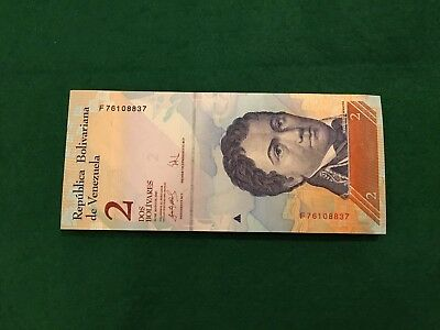 Venezuela 2007,Bundle De 99 Billetes,S/C,Unc,2 Bolivares,Pick 88