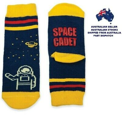 Toddlers Socks - SPACE CADET - FUNNY FEET By GamaGo - Ages 12 - 24 Months - New
