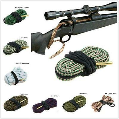 Pro Gun Bore Snake String Cleaner Cleaning Calibre Borebrush Hunting Accessories
