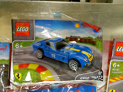 New /& Sealed 2014 SHELL V-Power LEGO Ferrari 250 GTO #40192