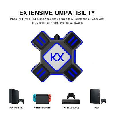 KX APEX Precison Mouse & Keyboard converter Adapter for Xbox One 360 PS3 PS4