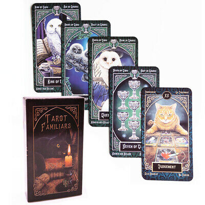 78 Cards legendary Tarot Cards Board Game Deck English Edition Family Friend Toy