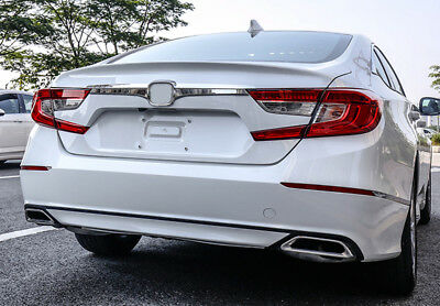 US Ship ABS Chrome Rear Door Trunk Lid Cover Trim For Honda Accord 2018 2019
