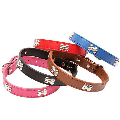 Bling strass en cuir en cristal OS chiot collier chien collier chat anima rP
