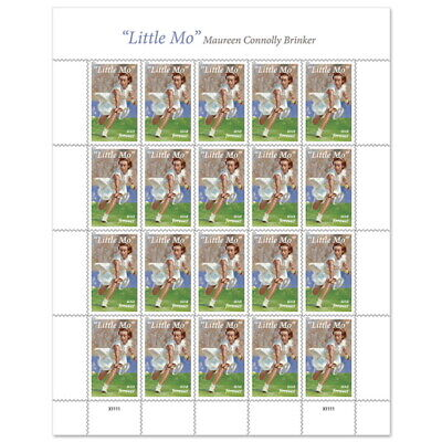 "USPS New ""Little Mo"" Pane of 20"