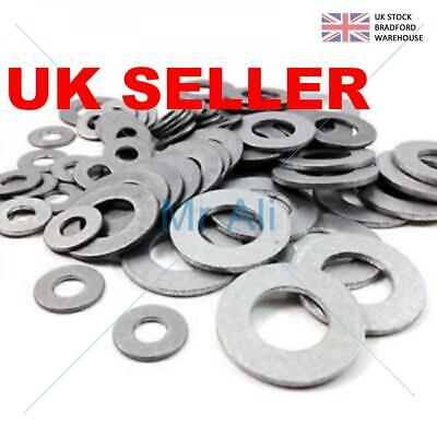 Form A Flat Washers To Fit Metric Bolts & Screws A2 Stainless Steel (Uk Seller)