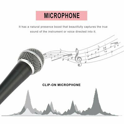 SM-58 Dynamic Microphone Vocal Wired Recording Cardioid Microphones Instrument C
