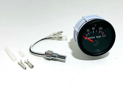 Wassertemperaturanzeige universal 52mm 40-120° Retro Look Gauge 16V VR6 Turbo