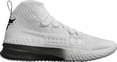 Under Armour Project Rock 1 Mens Training Shoes - White