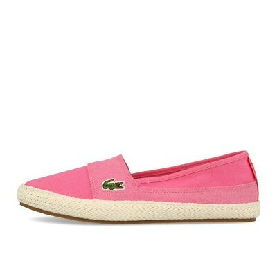 3104c76dfc LACOSTE MARICE 218 1 Caw Rose Rose Chaussures Baskets Mocassins Rose ...