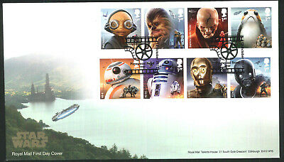2017 FDC - Star Wars Pinewood Rd Iver - Sent Post Free
