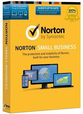Symantec Norton Small Business - 5 Device Protects data across devices