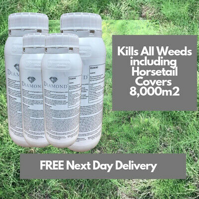Kill Horse Mares Tail Diamond Weedkiller 4X1L Replaces Pearl