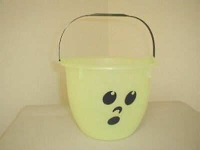 5 Qt. Ghost Bucket Glow in the Dark with Black Handle