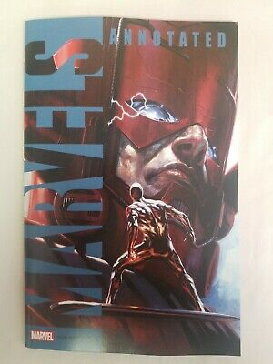 Marvels Annotated #3 2019 MARVEL Comics Gabriele Dell'Otto Variant Cover NM