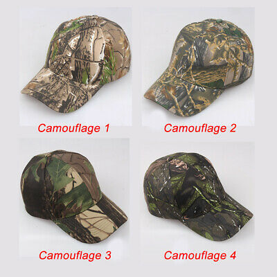 Men Camo Cap Military Hunting Fishing Hat Adjustable Army Baseball Camouflage