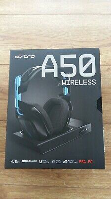 Brand New, Sealed A50 Astro Gaming Headset, Gen 3, PS4 & PC, Blue & Black