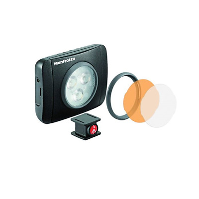 Manfrotto Lumimuse 3 On-Camera LED Light Black MLUMIMUSE3A-BK