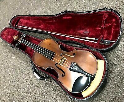 Vintage 14 Inch Viola -First National Institute Violin Made In  Germany