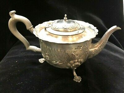 Sterling Silver English Chester Teapot From 1903
