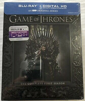 Game of Thrones The Complete First Season (Bluray, 2014, Canadian) New