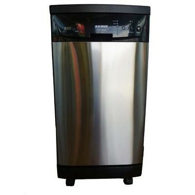 """SOLOROCK 18"""" Portable Dishwasher - Deluxe Stainless Steel - Open Box"""