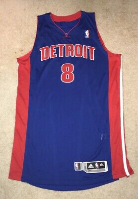 a31f80e1a0c Ben Gordon Detroit Pistons Game Worn Used Jersey Adidas Rev30 2XL XXL NBA  Mr.D