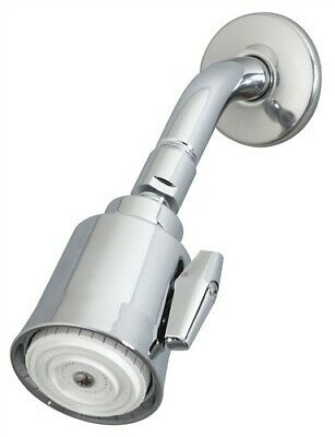 SYMMONS 4-131F-BRASS 1/Pkg Super ShowerHead, Female 2.5gpm Flow Rate