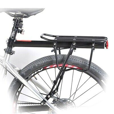 Bicycle Mountain Bike Rear Rack Seat Post Mount Pannier Luggage Carrier Aluminum