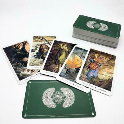 Nature Tarot Cards Deck Full English Mysterious Animal Playing Board Game