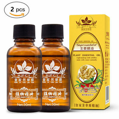 2 x 100% PURE Plant Therapy Lymphatic Drainage Ginger Oil | High Quality