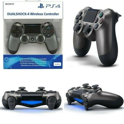 PS4 DualShock 4 Controller Magma Black Steel V2 BRAND NEW SEALED OFFICIAL SONY H