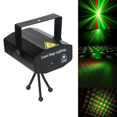 DJ Disco Stage Light RGB Mini Laser Projector Xmas Show Party with RC LED AU