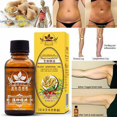 100% PURE Plant Therapy Lymphatic Drainage Ginger Oil |Essential Oils|