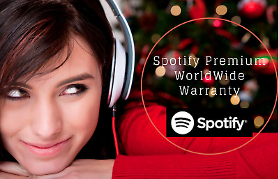 Spotify Premium 12 Months [ 5sec Delivery ] OWN or New Account ~ Warranty ~ SALE