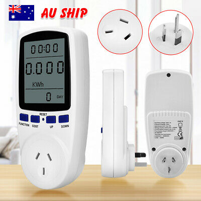 AU Plug Power Energy Consumption Watt Meter Electricity Usage Kill-A-Watt Tester