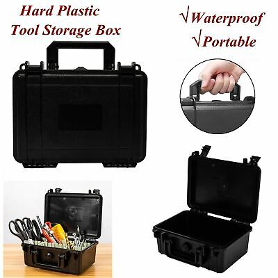 Shockproof Hard Plastic Box Survival Container Storage Case Tool Box Portable