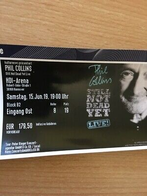 Phil Collins - 15. Juni 2019 in Hannover