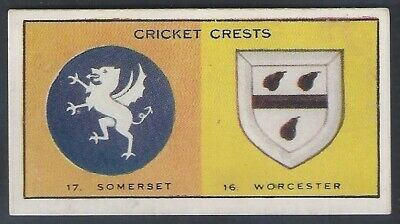 Thomson (Dc)-Cricket Crests-#16- Worcestershire