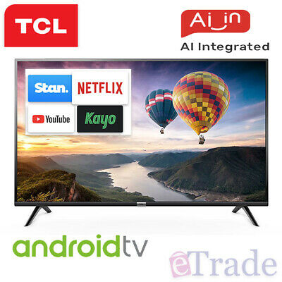 "2019 TCL 40"" Inch Full HD LED Smart TV Netflix Android 40S6800FS + 3 Yr Warranty"