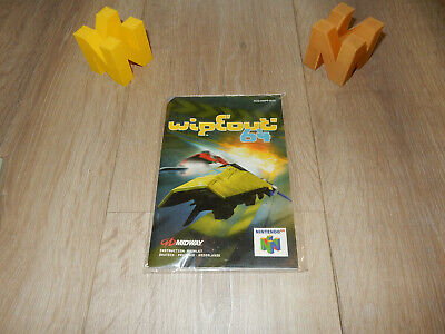 PAL N64: WipeOut 64 Manual Only NO GAME Nintendo 64