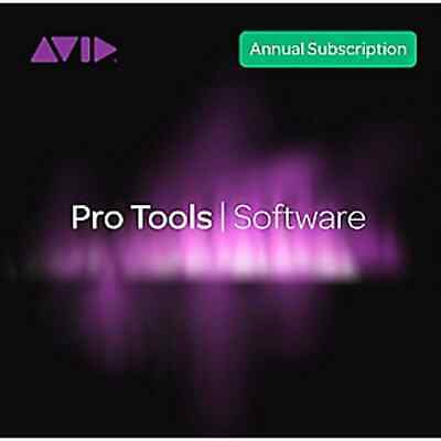 Avid Pro Tools 2018.12 Annual Subscription Educational (Boxed)