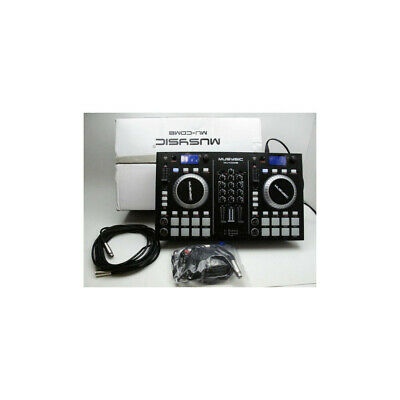 MUSYSIC MU-MID8 2-CHANNEL DJ MIDI Controller with 8 Soft-Touch