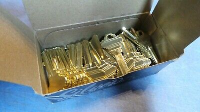 50 – JET Silver Line Key Blanks 100-C-NS, fits Schlage C, 5 pin. NEW in Box