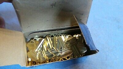44 – JET Silver Line Key Blanks 100-C-NS, fits Schlage C, 5 pin. NEW in Box