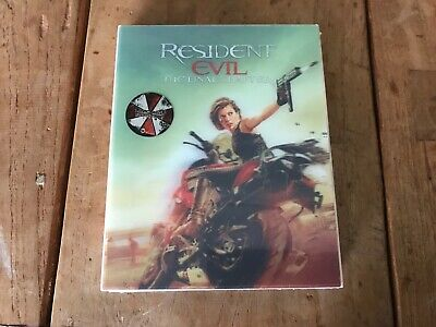 Resident Evil: the Final Chapter Kimchidvd Excl #49 steelbook blu ray lenticular