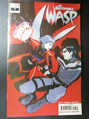 The Unstoppable Wasp #7 - July 2019 - Marvel Comics # 6C92