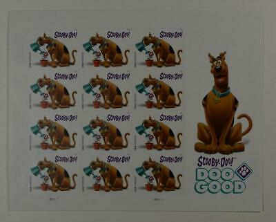 Us Scott 5299 Scobby Doo 12 Stamps Forever Mnh