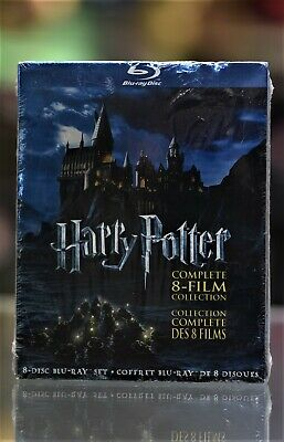 Brand New Harry Potter: The Complete 8-Film Collection (Blu-ray)
